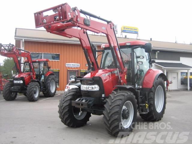 Used Case Ih Maxxum 130 Cvx Tractors Year  2015 Price