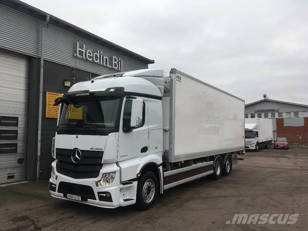 Used mercedes benz actros 2540 l ny bil f r omg ende for Mercedes benz syracuse ny