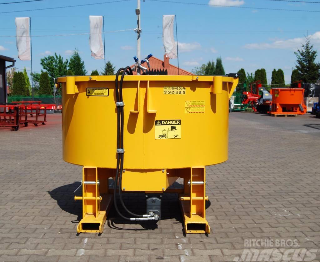Michalak Mieszalnik mixer hydrauliczny 800 1200 18