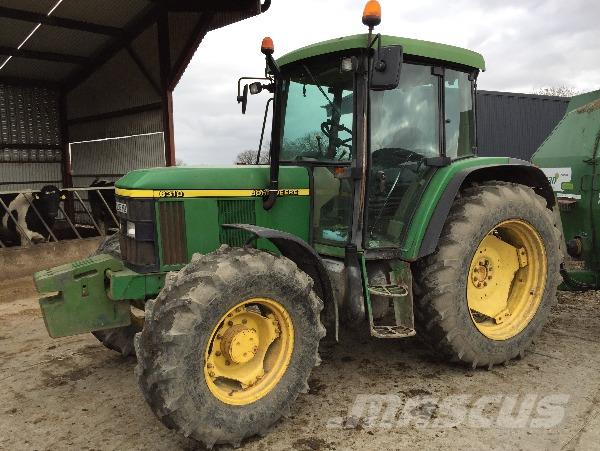 John Deere 6310 SE power quad
