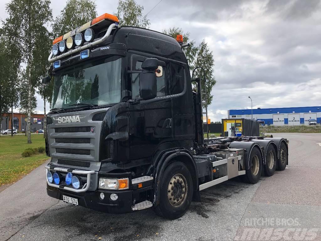 Scania R480 8x4*4  Lastväxlare Reco drive  495 000:-