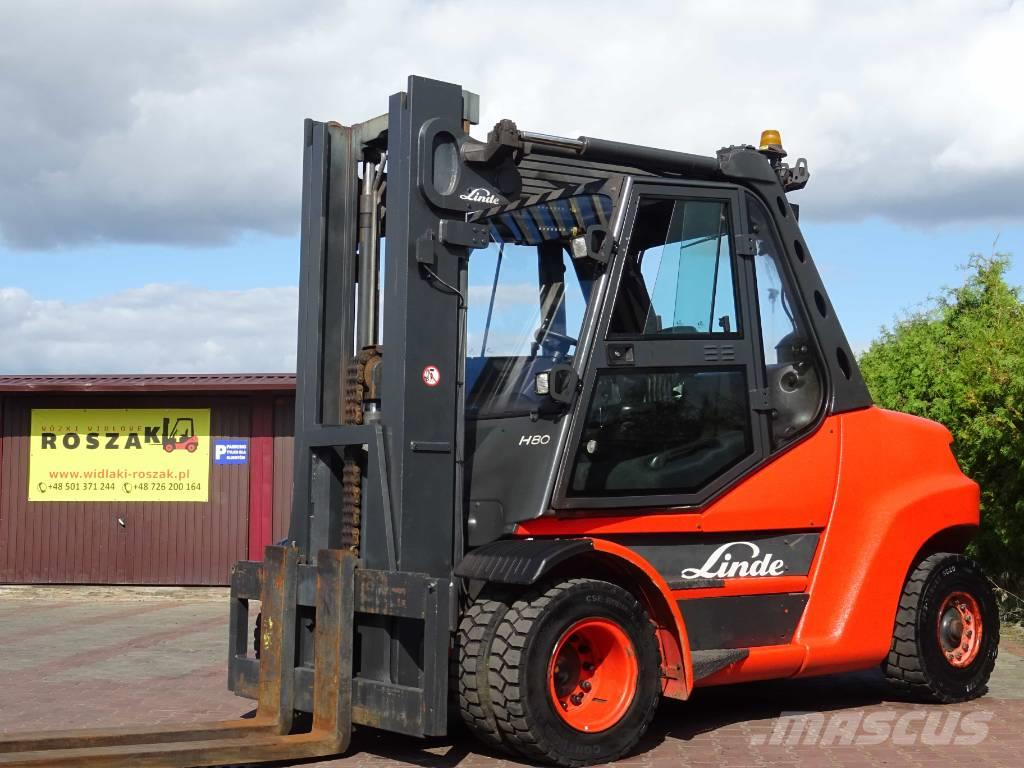 Linde H80D-900 Triplex