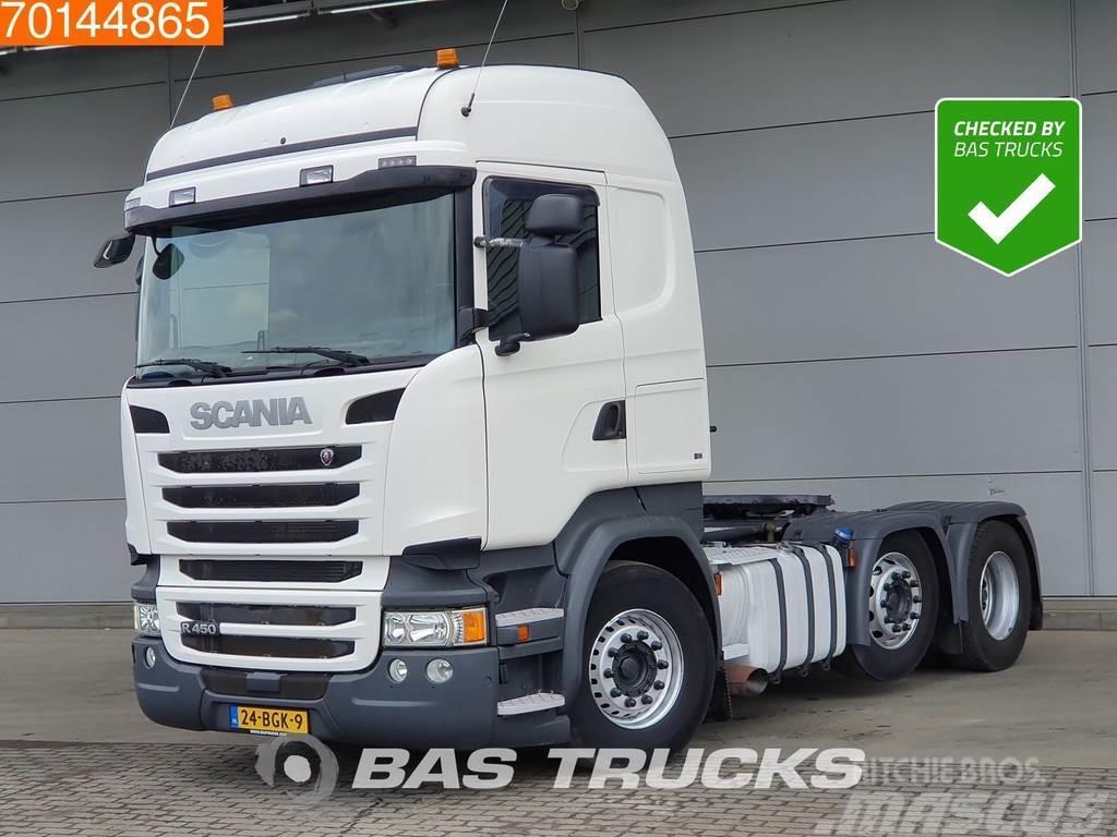 Scania R450 6X2 NL-Truck Lift+Lenkachse 2x Tanks Euro 6