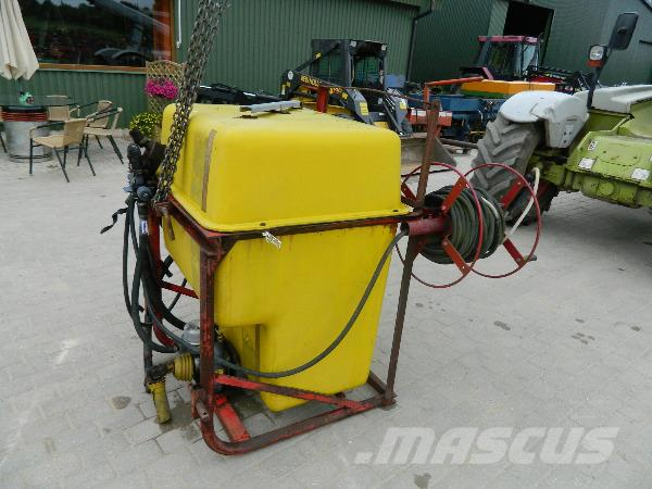 H-610 600, Växtskyddsprutor