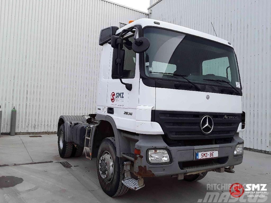 Mercedes-Benz Actros 2036 4x4 hydraulic