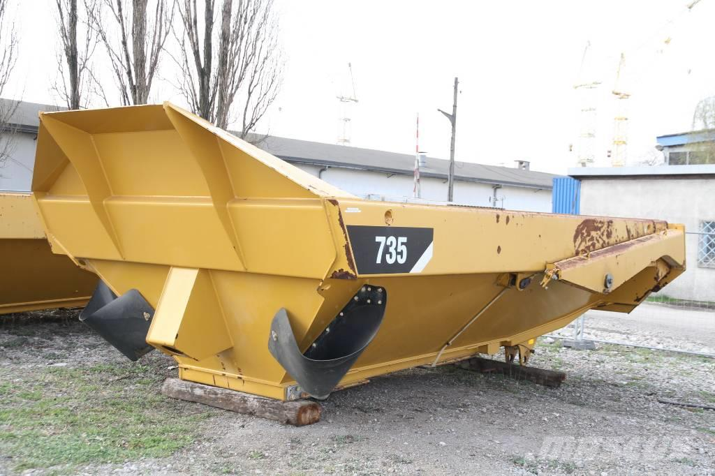 Caterpillar KIPPER TIPPER BODY DUMPER CATERPILLAR 735 FLAP DOO