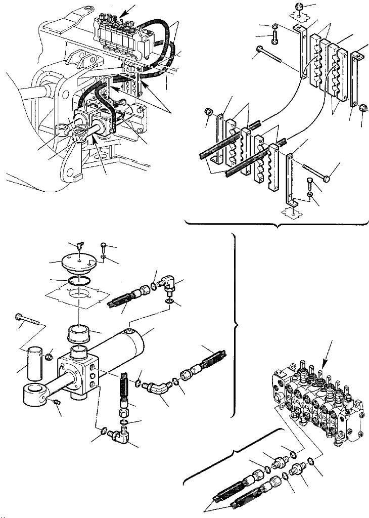 Komatsu - Rcaord circuit hidraulic - 500380503