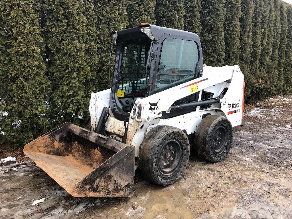 Bobcat s 550 Skid steer loaders Price £19 689 Year