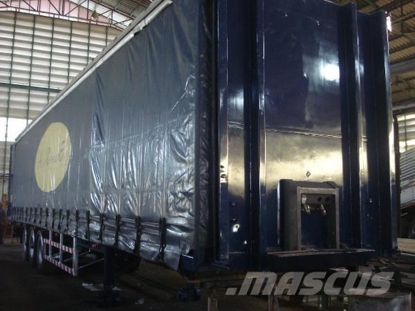 Curtain side, 2006, Containertrailer