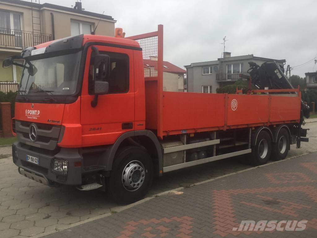 Mercedes-Benz Actros 2641 MP3 6X4 HIAB 166