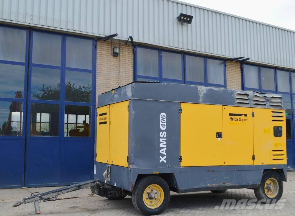 Atlas Copco XAMS406CD 8,6BAR 24500L/M CAT 6.6