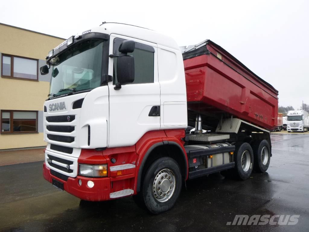 Scania R620 6x4+EURO5+FULL STEEL+BIG AXELS