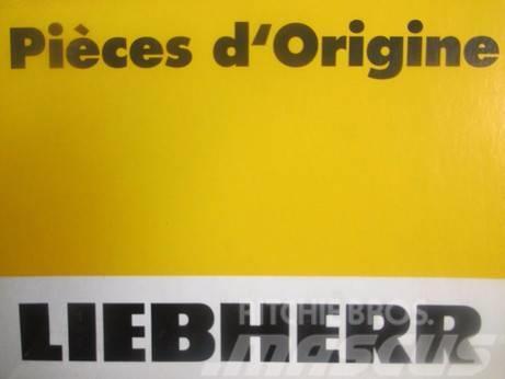 Liebherr 9815125 IDLER FORKS -NEW ORIGINAL