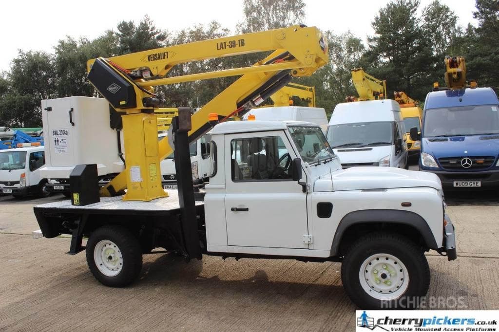 Land Rover Defender Versalift 39LAT Access Platform 14.5 metr