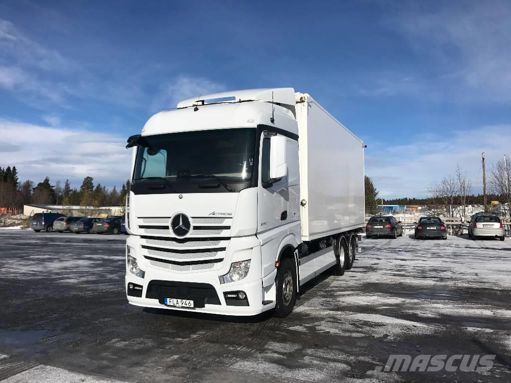 Used mercedes benz actros 2551 wood chip trucks year 2015 for Mercedes benz inspection cost
