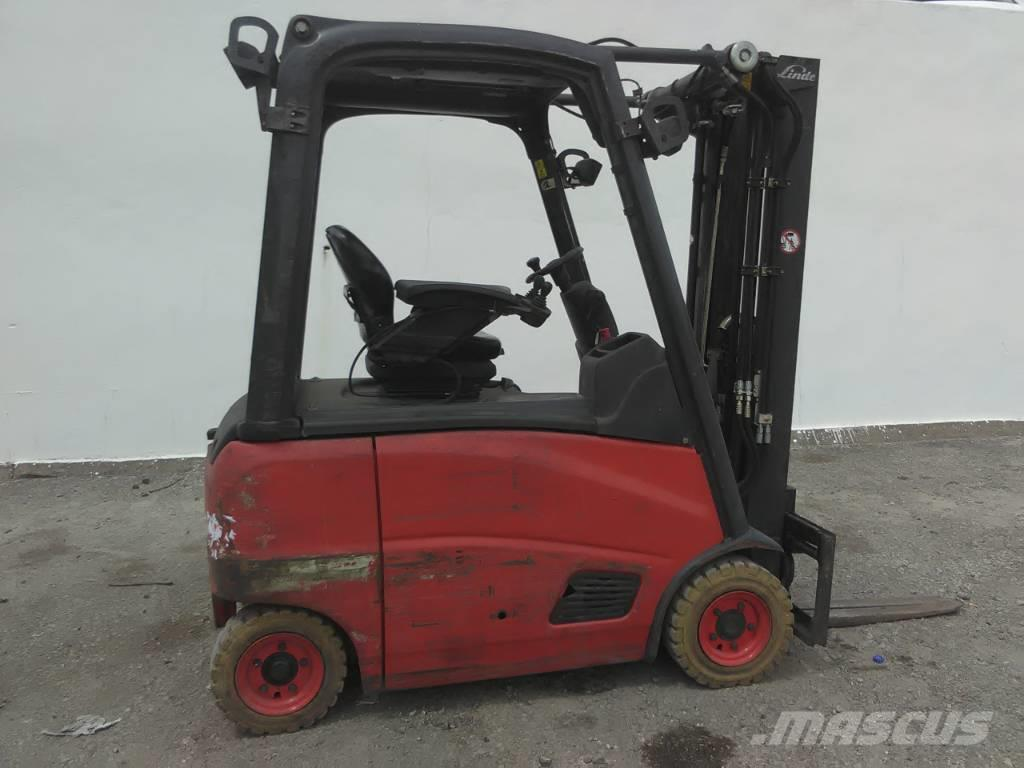 Linde E16ph 01 2010 Electric Forklifts