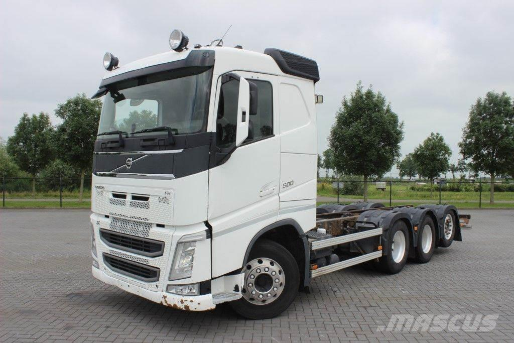 Volvo FH500 8X4 CHASSIS STEERING AXLE EURO 5