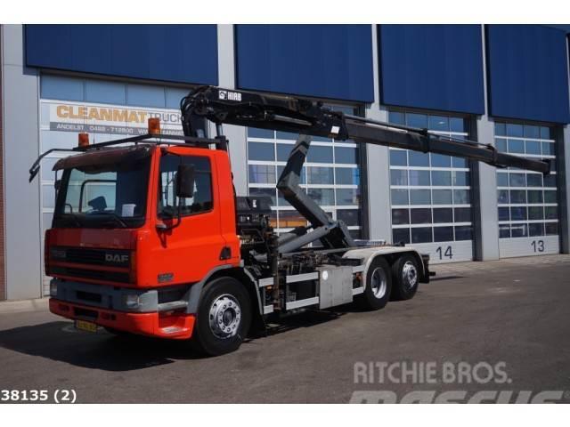 DAF FAN 75 CF 250 Hiab 19 ton/meter Kran