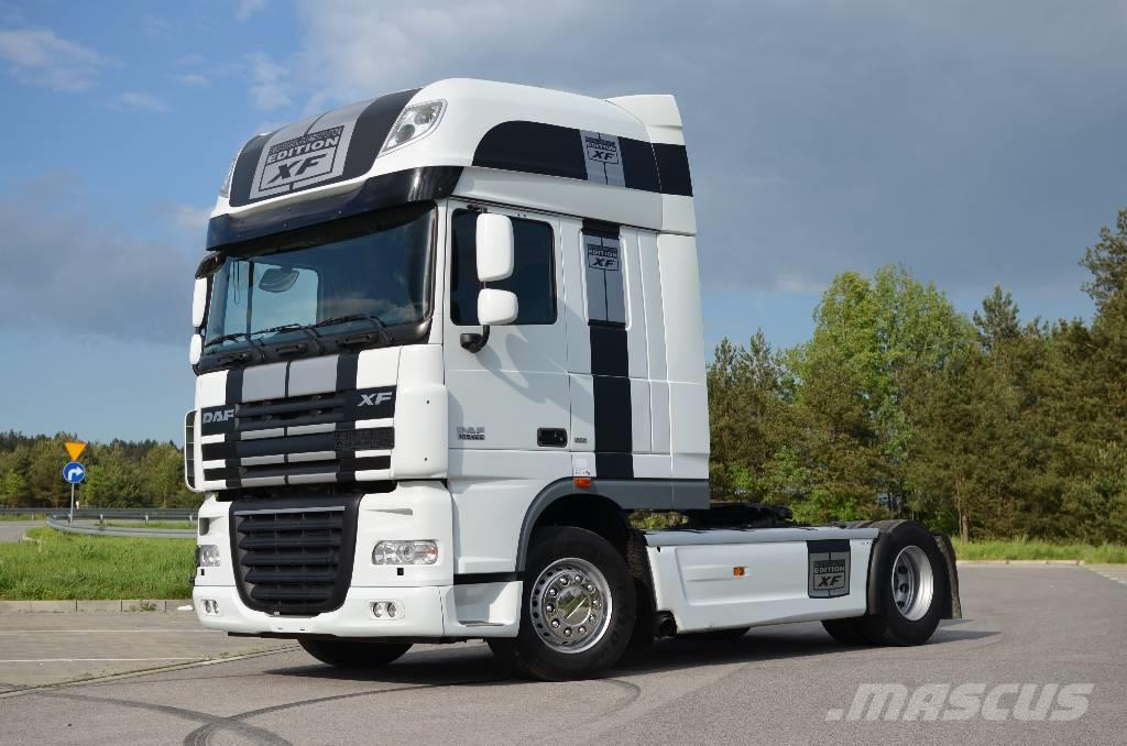used daf xf 105 460 ssc xenon perfect tractor units year. Black Bedroom Furniture Sets. Home Design Ideas