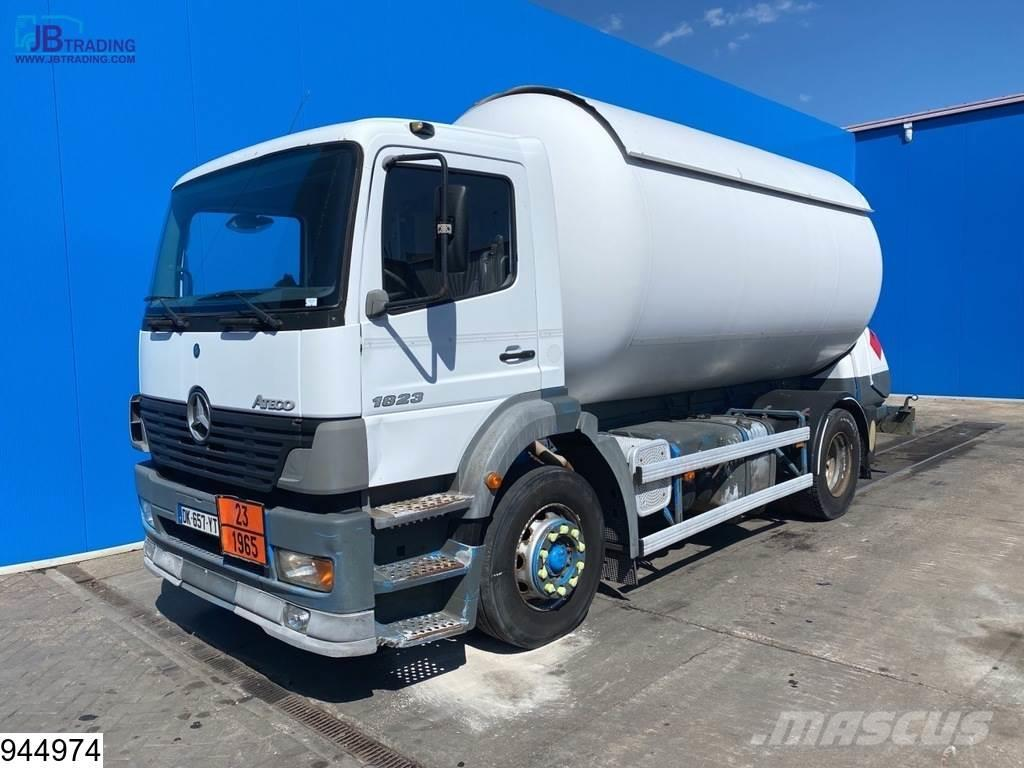 Mercedes-Benz Atego 1823 19908 Liter LPG Gas tank, Manual, Steel