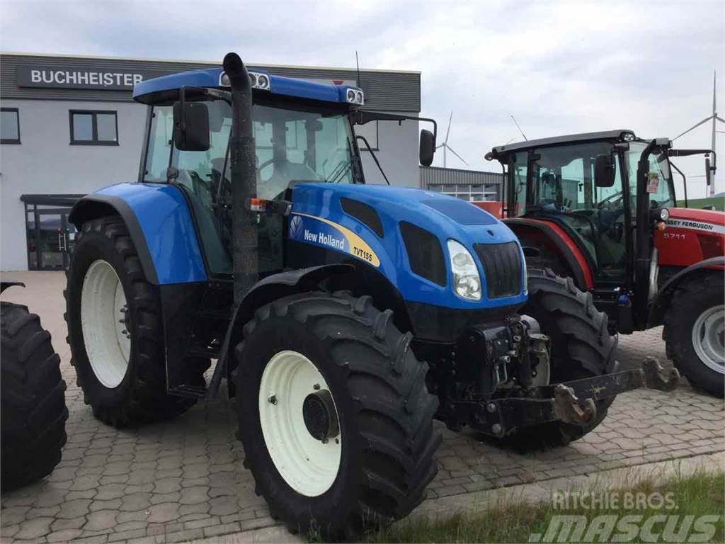 New Holland TVT155