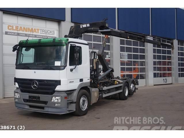 Mercedes-Benz Actros 2544 6x2 Hiab 16 ton/meter laadkraan
