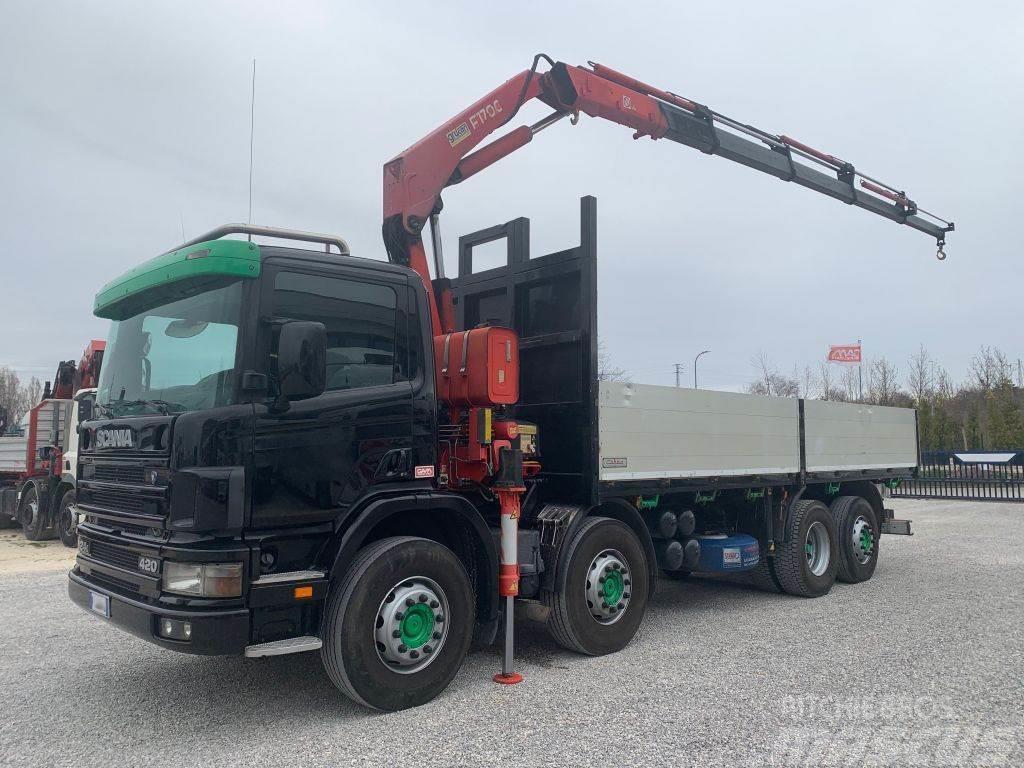 Scania P124-420 P24.420 + FASSI F170AC.25