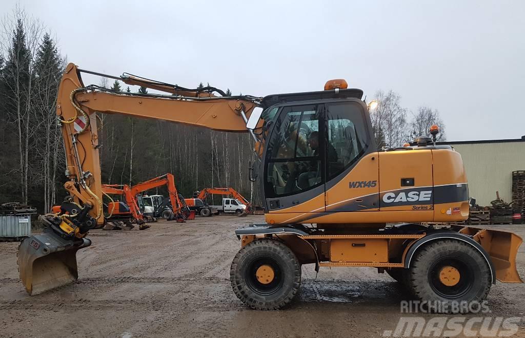 CASE WX 145 til salg, Pris: kr. 397.216, Årgang: 2011 - Brugte CASE WX 145 Gravemaskiner på hjul ...