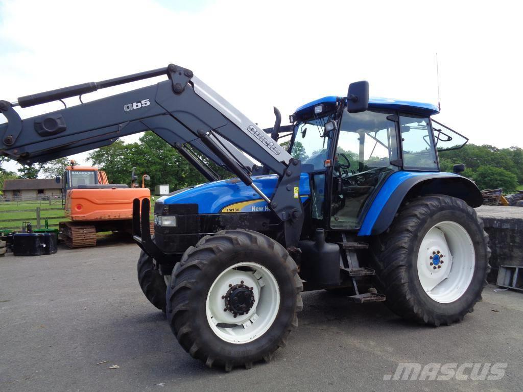 New Holland TM 130 WITH Q65 LOADER