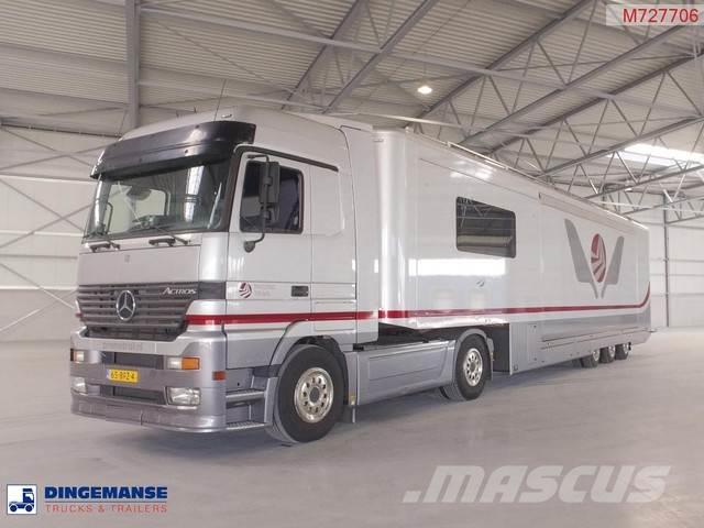 Mercedes-Benz Actros 1848 + AST 04/38T3AD Hospitality trailer