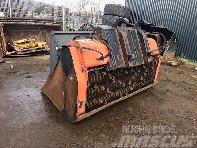 Allu 950 Coal crusher bucket