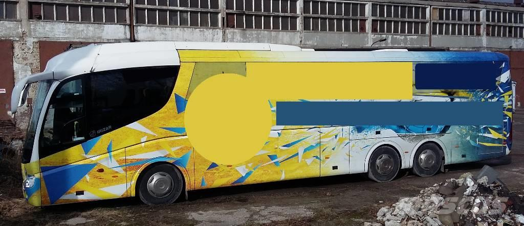 Scania IRIZAR PB 1437 420 euro 4 59+1+1 2008