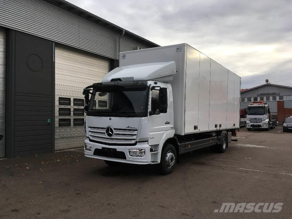 used mercedes benz atego 1624 ny bil f r omg ende leverans box trucks year 2017 for sale. Black Bedroom Furniture Sets. Home Design Ideas