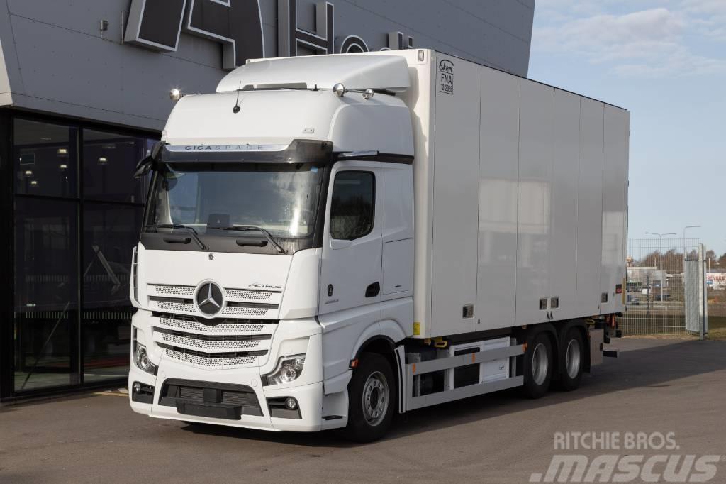 Mercedes-Benz Actros 2853 LDNA 6x2. Ekeri FNA-skåp Multi