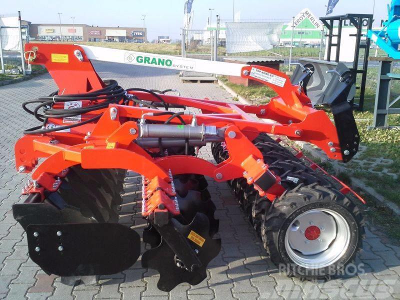 Top-Agro GRANO Disc harrow + lift + tires roller 2,5m