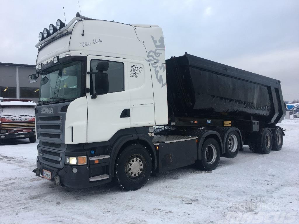 Scania R500 6x2 ja zorzi kärry