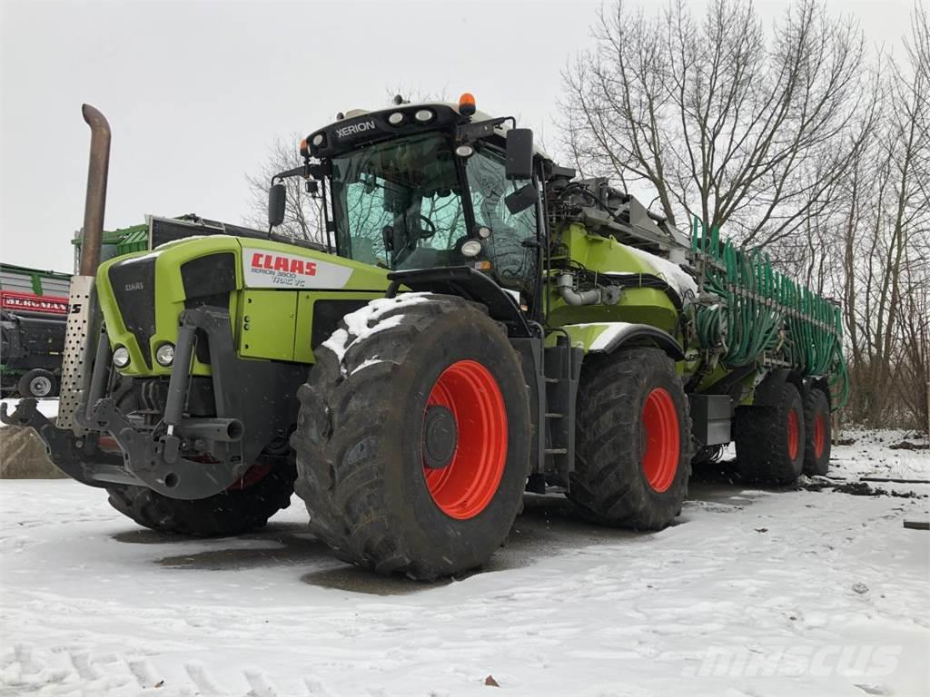 CLAAS XERION 3800 Trac mit Kaweco 22500