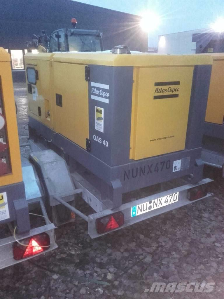 Atlas Copco Stromaggregat QAS 40 KD 400V 3PH