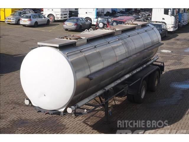 Burg Tank 24.000 LTR 2-assig steel suspension