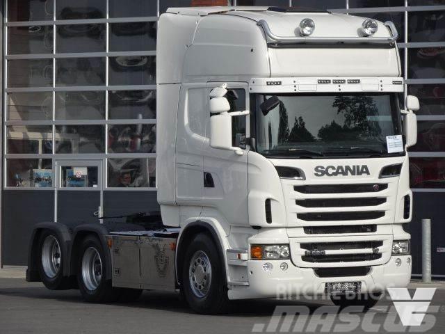 Scania R620 LA6x2HNB, Full Air, Euro5, LOW Kilometer