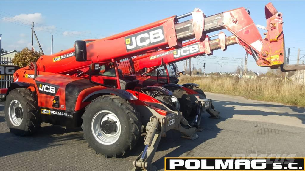 JCB 535-140 99.000 zł netto JCB 535-125 531-70 535-95