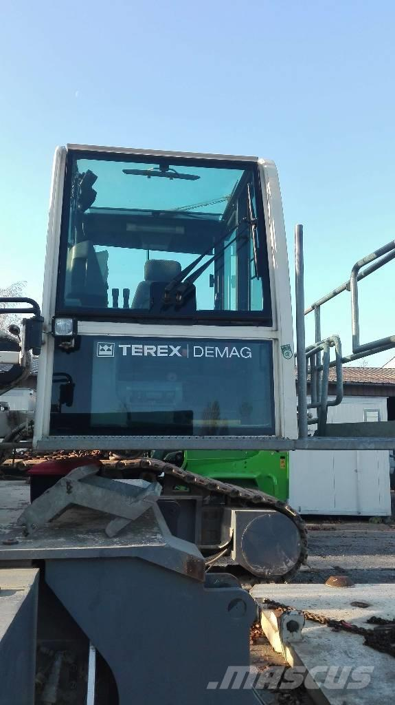 Used Terex Demag CC 2500-1 crawler Cranes Year: 2007 for