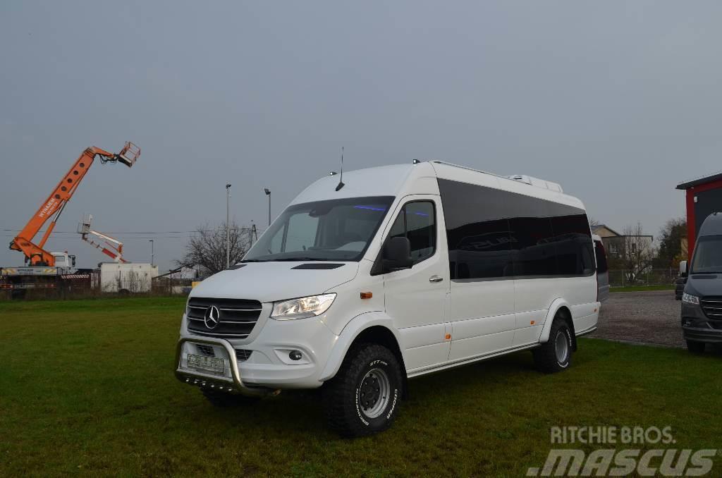 Mercedes Benz Sprinter 519 Cdi 4x4 2019 Iceland Used Mini Bus Mascus Uk