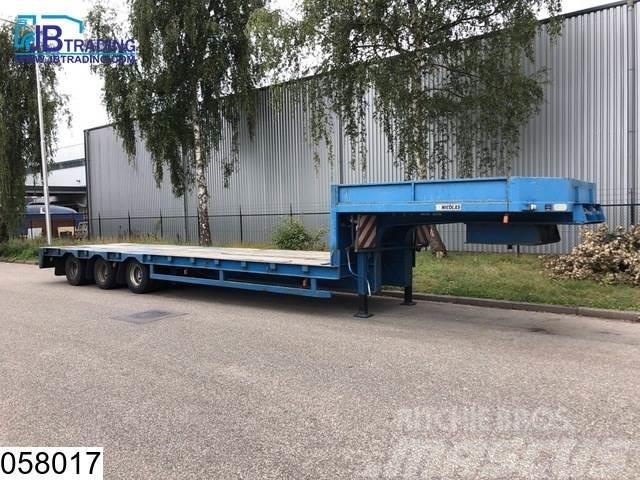 Nicolas Lowbed 54000 KG, Steel suspension, Lowbed, 3,5 en