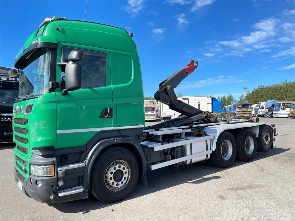 Scania R560 8x4 Tridem