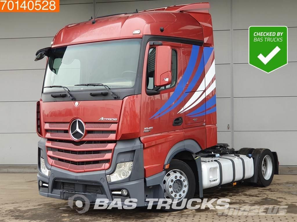 Mercedes-Benz Actros 1845 LL 4X2 Mega 2x Tanks Navi Xenon EEV St