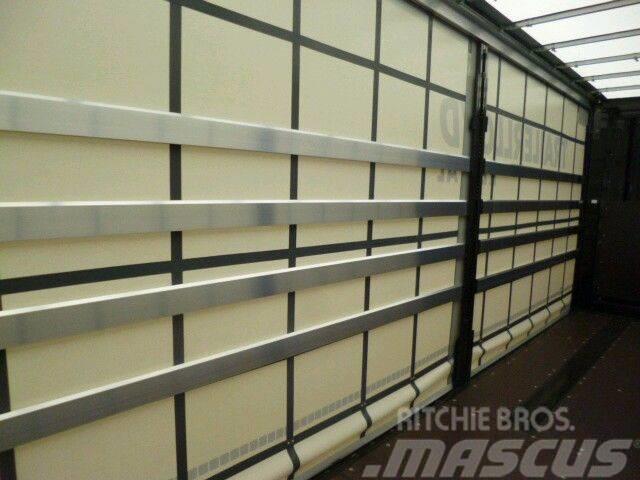 Krone Guard side boards for semitrailers wooden aluminiu