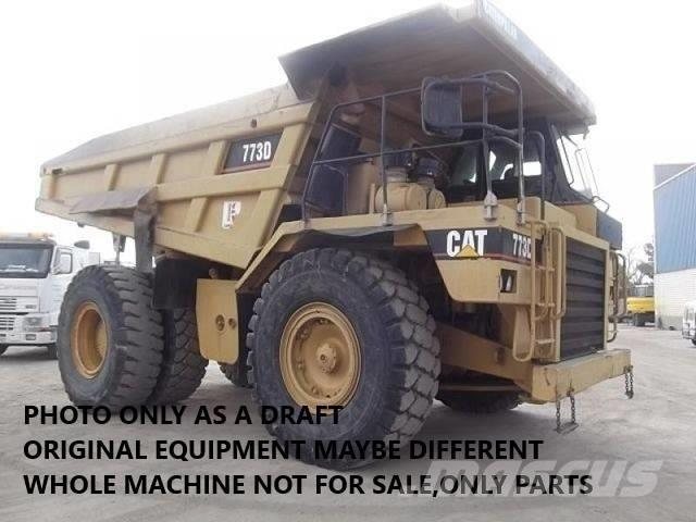 Caterpillar DUMPER 773D ONLY FOR PARTS