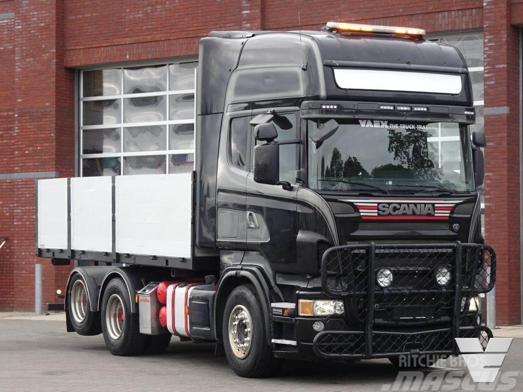 Scania R500 V8 Topline 6x2 - Tractor unit / box - Full ai
