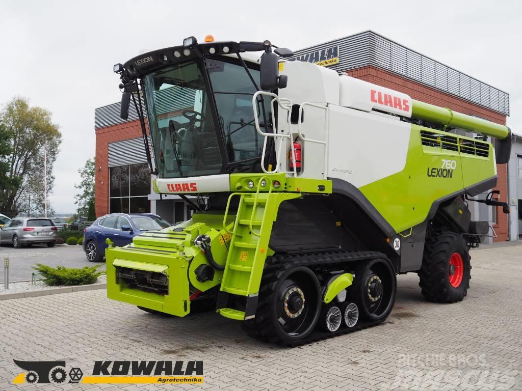 CLAAS Lexion 760TT + V930
